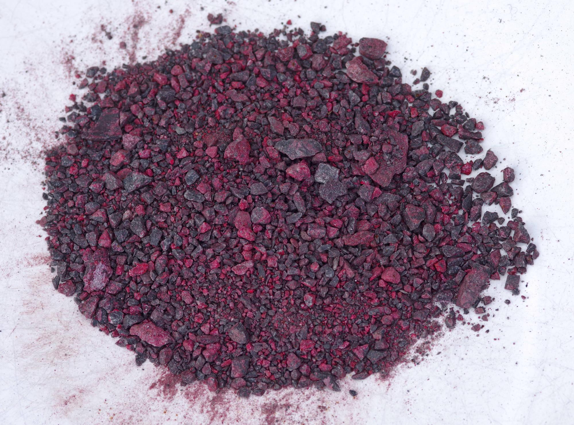 crushed cinnabar