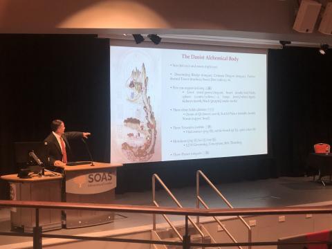 Dr Louis Komjathy presents on Daoist alchemy